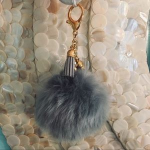 Accessories - NWOT -Pom Purse Charm